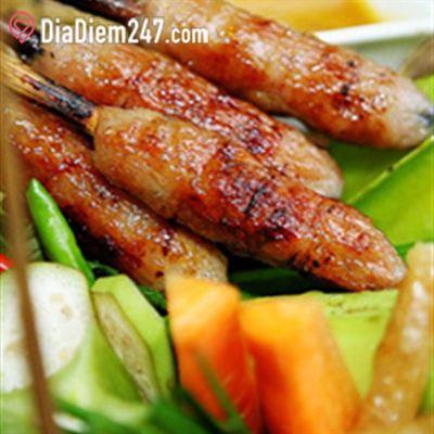 Nem Nướng Gánh - Đặc Sản Nha Trang - Food Court Vincom Center