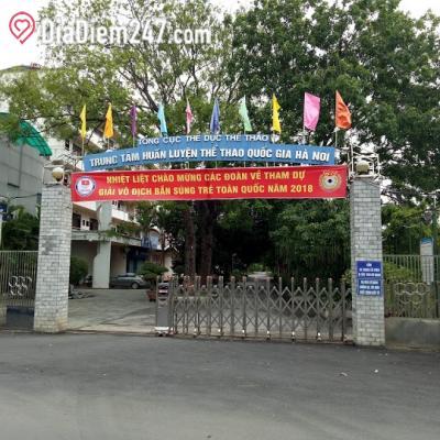 Trung tâm Huấn luyện thể thao Quốc gia Hà Nội - Trung tâm thể thao Nhổn