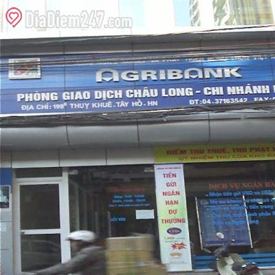 Agribank - Phòng giao dịch Châu Long - Chi nhánh Hồng Hà
