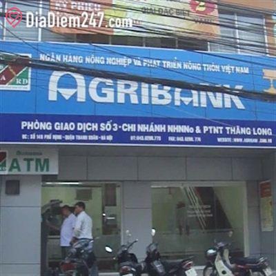 Agribank - Phòng giao dịch số 3 - Chi nhánh Thăng Long