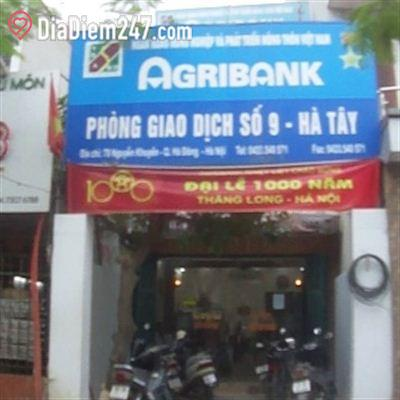 Agribank - Phòng giao dịch số 9 Hà Tây