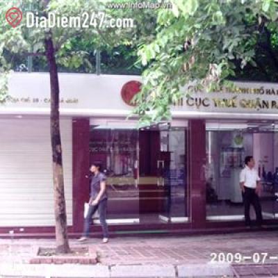 Chi cục thuế quận Ba Đình - Cục thuế thành phố Hà Nội
