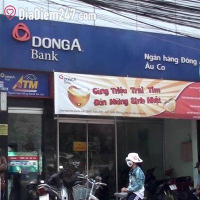 DongABank - Phòng giao dịch Âu Cơ