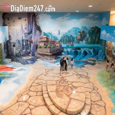 Khu Triển lãm Tranh 3D Artinus