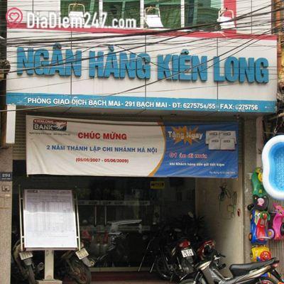 KienLong Bank - Phòng giao dịch Bạch Mai