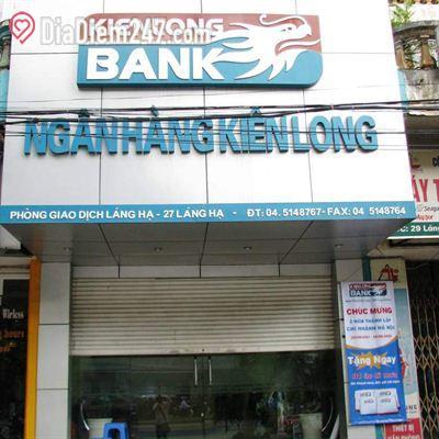 KienLong Bank - Phòng giao dịch Láng Hạ