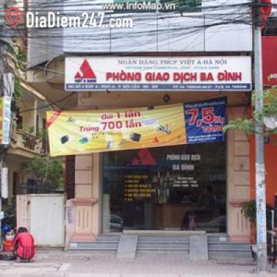 Ngân hàng Việt Á - Phòng giao dịch Ba Đình