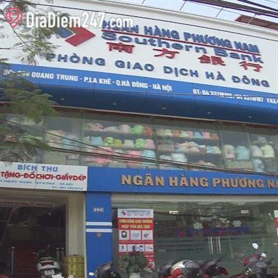 Phòng giao dịch - Ngân hàng Phương Nam