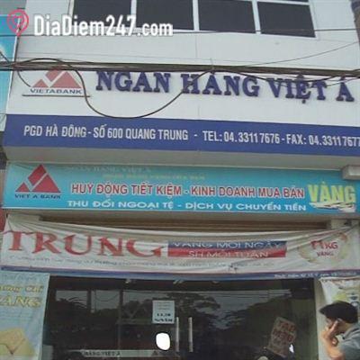 Phòng giao dịch ngân hàng Việt Á