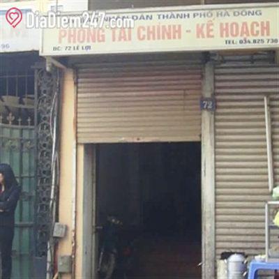 Phòng tài chính kế toán quận Hà Đông