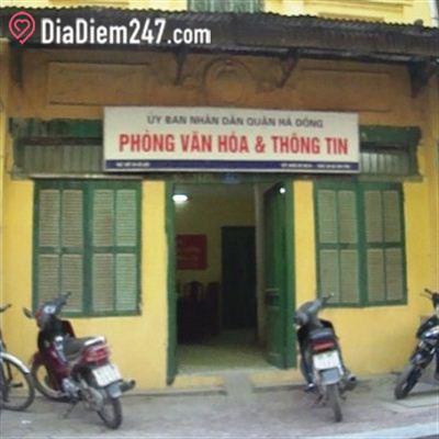 Phòng văn hóa và thông tin quận Hà Đông