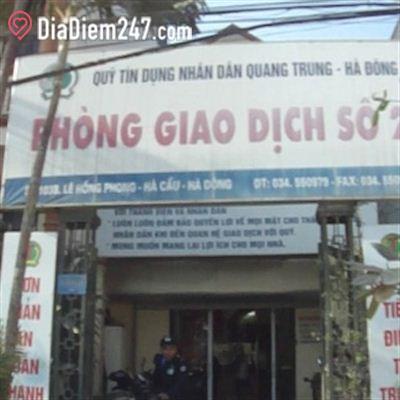 Quỹ tín dụng nhân dân Quang Trung - Hà Đông