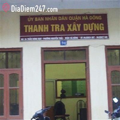 UBND quận Hà Đông - Thanh tra xây dựng
