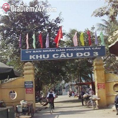Ủy ban nhân dân phường Hà Cầu - Khu Cầu Đơ 3