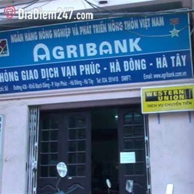 Văn phòng giao dịch Agribank Vạn Phúc Hà Đông