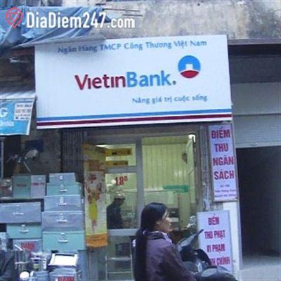 Vietinbank - Điểm thu ngân sách, thu phạt vi phạm hành chính
