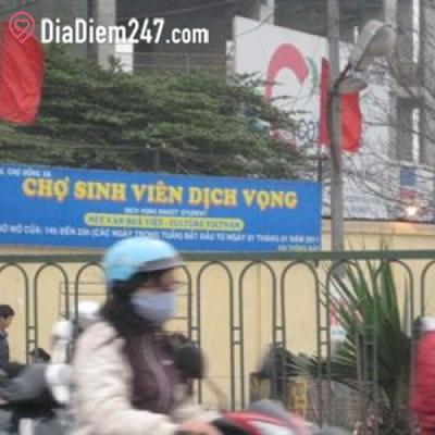 Chợ Sinh Viên Dịch Vọng