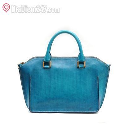 Túi xách da thật handmade Kenna - Thanh Xuân