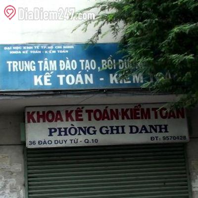 Khoa kế toán kiểm toán trường đại học kinh tế TP Hồ Chí Minh
