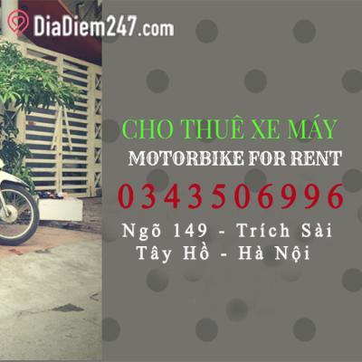 Thuê xe máy hà nội - Motorbike for rent in hanoi (Mr-Good Bikes)
