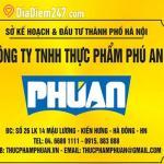 Công ty TNHH Thực Phẩm Phú An